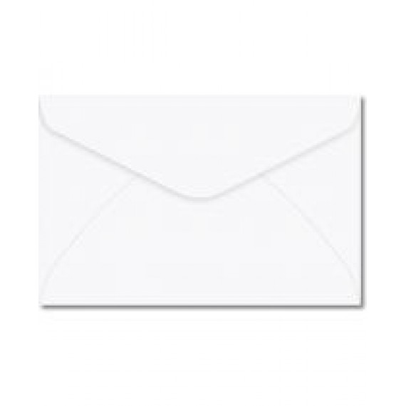 Envelope Carta Branco 114x162mm - Foroni