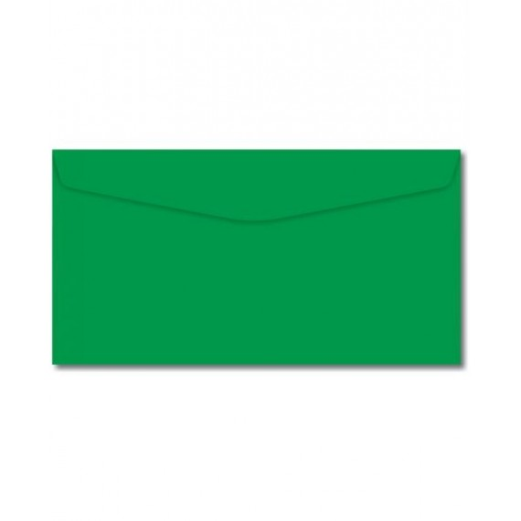Envelope Carta Verde Escuro 114x162mm - Foroni